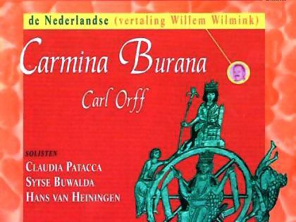 CD Carmina Burana in de hertaling door Willem Wilmink